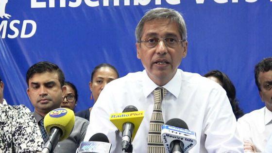 Le PMSD félicite le peuple chagossien