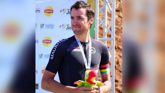 JIOI - Cyclisme : «Je suis vraiment satisfait de ma performance mais déçu pour Christopher Lagane», confie, le coureur mauricien Yannick Lincoln