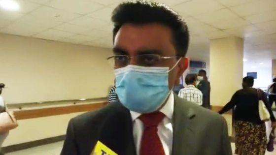 [Live] Déclaration du président du Bar Council, Me Varma à l'hôpital Jeetoo
