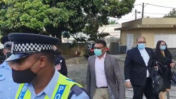 Enquête judiciaire sur la mort de Soopramanien Kistnen : Yogida Sawmynaden est arrivé au tribunal
