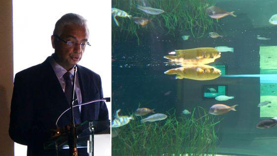 Inauguration de l'Odysseo : «L'océanarium a le mérite d'améliorer l'offre touristique du pays», dit le PM