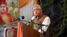 Pravind Jugnauth : «Mo dir Shakeel Mohamed aret fer cholo»
