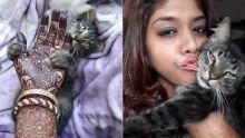 Pooja Bhurtun, artiste de henné : elle puise son inspiration de ses chats