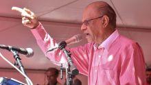 Législatives 2019 : Ramgoolam sera candidat au no 10, ses deux colistiers seront Jim Seetaram et Reza Saumtally