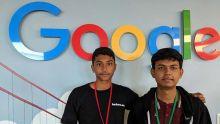 Un élève mauricien chez Google