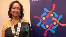 Manda Boolell, première femme présidente du Rotary Club de Curepipe