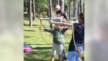 Centre de Loisirs à La Marie : Breivhartz Chivalry & Sports Clubpropose le tir à l'arc