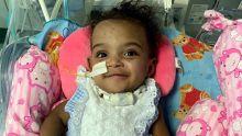 Souffle d'espoir du bébé miraculé :Marie-Cléanne Papillon respire enfin normalement