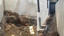 À Grand-Baie : des travaux de la WMA laissés à découvert dans sa cour