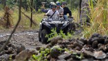 Sweety Moheeputh : elle propose la découverte du Pont Naturel en quad