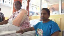 Pour cinq bouteilles d'alcool : un forcené tabasse une retraitée et sa fille à coups de bois et les envoie à l'hôpital