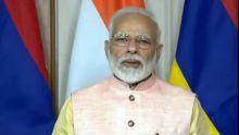 Via visioconférence :Narendra Modi salue le«leadership visionnaire du PM»