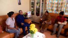 Pravind Jugnauth chez la famille Ramgoolam : le PM annonce la construction d'un poste de police à Vallée-des-Prêtres