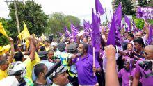 Nomination Day : quand des sympathisants de deux partis se croisent en route