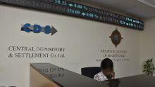 Bourse de Maurice : le retrait étranger frôle les Rs 2 milliards sur le marché officiel