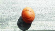 Insolite : un soleil gravé sur une... coquille d'œuf