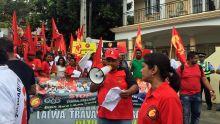 Marche pacifique de la CTSP : ultimatum pour la révision des lois du travail