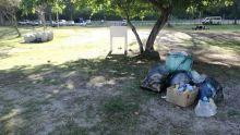 Les plaies de la plage du Morne : manque d'eau et ramassage tardif d'ordures
