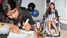 En fauteuil roulant, Jaya Chekori veut montrer que rien n'est impossible