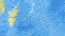 Earthquake of magnitude 4.9 recorded near Rodrigues