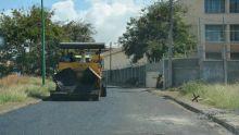 Infrastructures routières : début des travaux de réasphaltage