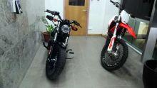 Réseau Agathe : deux Harley Davidson saisies par l'ICAC