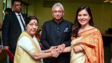 Prime Minister Jugnauthpays tribute to lateShrimati Sushma Swaraj