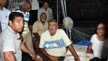 Grève de la faim : défilé de politiciens au chevet de Clency Harmon