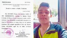 Atteint d'insuffisance rénale : Vishay, 16 ans, a besoin d'argent pour se faire opérer en Inde