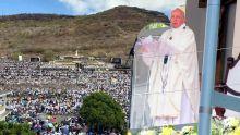 Homélie de la messe à Marie Reine de la Paix : le pape critique les «marchands de la mort» et «les ambitions du pouvoir»