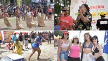Beach Tour de Radio Plus à Flic-en-Flac : une foule enthousiaste sous un beau soleil