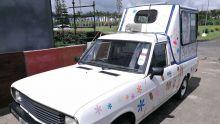 Plage de Palmar : un camion de glace s'équipe de panneaux solaires