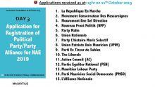 Commission électorale : 67 enregistrements reçus en trois jours