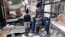 Sa maison incendiée pour la deuxième fois : Premawtee n'a pas les moyens de reconstruire sa maison