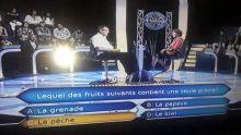 Version mauricienne de Qui veut gagner des millions? : une question fait le buzz