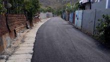 À Sainte-Croix : drains installés et rue asphaltée après une décennie d'attente