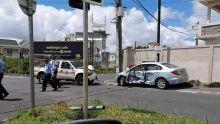 Sodnac : collision entre un véhicule de la police et une voiture