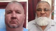 Johannes Nortje et Younus Suliman ont été arrêtés puis relâchés sur parole mardi.