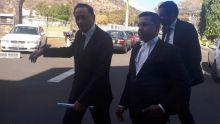 Me Anoop Goodarry et Me Yousuf Mohamed