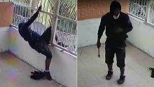 A Baie-du-Tombeau : le voleur filmé en train de découper les barreaux