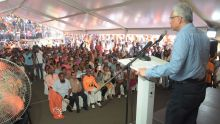 Rassemblement de l'Alliance Morisien : Ramgoolam est en panne d'idées, selon Pravind Jugnauth