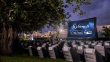 Open Air Cinema : a Unique Experience Offered to Mauritians