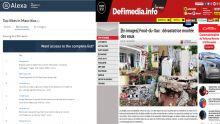 Site d'information :www.defimedia.info reste le site Web local le plus visité à Maurice