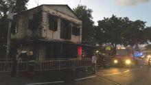 Poste de police de Trou-Fanfaron : un bâtiment historique part en fumée