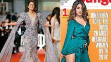 The Times 20 «Most Desirable Women» de la télé : Hina Khan devance toutes les actrices