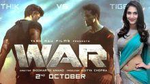WAR : Hrithik Roshan et Tiger Shroff s'affrontent