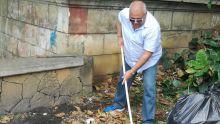 Opération nettoyage de la rivière La Chaux