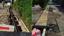 À Curepipe : des travaux de drains décrié