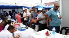 Campagne Anou aprann viv avek diabet : succès d'affluence pour la journée de dépistage du diabète