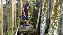 Curepipe - Résidence Atlee : un manhole qui bloque l'évacuation de l'eau